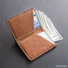 Handmade Mini Pat Wallet  : PatLeatherShop : RFID Wallet