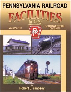 Download free Pennsylvania Railroad Facilities In Color Vol. 15: Buckeye Division Columbus Union Depot - West pdf