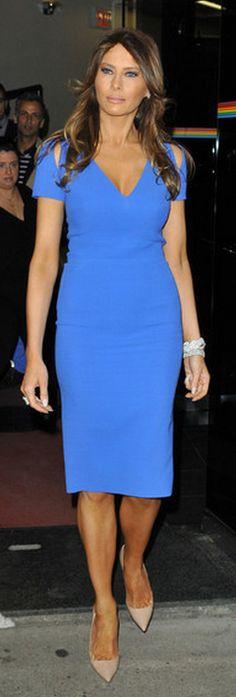 Melania Trump in Victoria Beckham