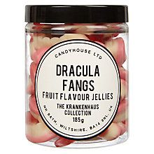 Buy Candy House Jar of Jelly Dracula Fangs, 185g Online at johnlewis.com