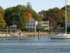 Branford CT Waterfront - A Picture Perfect Day At Branford Point