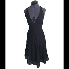 """Size 2 J. Crew Halter Dress Perfect versatile LBD for the summer. Can go to the beach or a summer wedding. Waist measures at 27"""" J. Crew Dresses"""