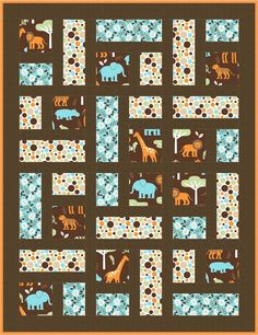Good Menagerie Quilt Pattern 4 You are in the right place about patchwork quilting crochet Here we offer you the most beautiful pictures about the patchwork quilting easy you are looking for.