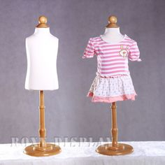 Amazon.com: Children/child/kid Body Dress Form Mannequin size 6 ...