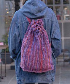 Crochet Bags Ideas Fiore Rucksack free knit pattern in Italian Story Ombra yarn. A modern backpack style bag with an artsy vibe. Designed by Italian Story Design Team. Crochet Shell Stitch, Crochet Tote, Crochet Handbags, Crochet Purses, Bead Crochet, Crochet Baskets, Crochet Gifts, All Free Crochet, Easy Crochet Patterns