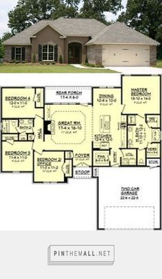 European House Plan Alp 09cr Chatham Design Group House Plans 1750sf Created Via Https Pinthemall Ne House Layouts New House Plans Architecture House
