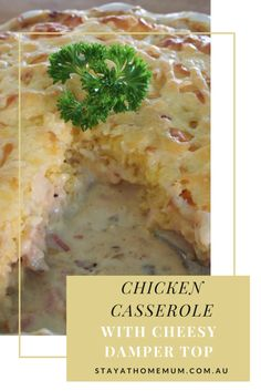 This chicken casserole is a huge fave at my place - I like to add veggies to it…