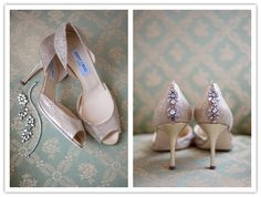 DIY sparklies on the heels, like these Jimmy Choos?