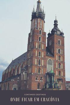 Onde ficar em Cracóvia. Dicas sobre as melhores localizações para se hospedar em Cracóvia, na Polônia. Saiba a melhor localização para ficar em Cracóvia.