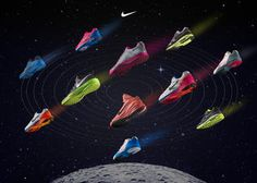 Inspired by astronauts bounding weightlessly on the moon to deliver lightweight responsive cushioning