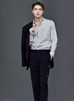 170421 Jaejoong for Harper's Bazaar Japan