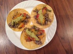 Texas Two Step Turkey Tacos Brown ground turkey seasoned with wood smoked salt and 1 can of HEB hatch chillies. Cook veggies in HEB yellow soup until soft. Brown corn tortillas and layer turkey, veggies, cheese and HEB That Green Sauce.