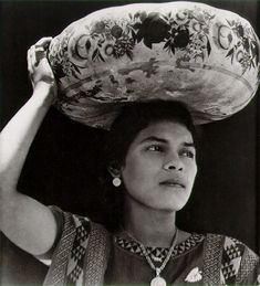 """Tina Modetti, Italian Am. 1896-1942, known for portraits, plant studies, series """"Women of Tehuantepec"""", and images of the Mexican revolutionary movement during 1920s; Madonna big collector of work"""