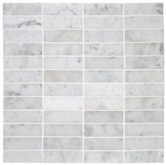 "Amazon.com: CARRARA VENATO HERRINGBONE 1X2"" MOSAIC MARBLE TILE: Everything Else"