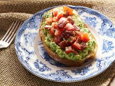 Get Tia Mowry's Bacon-Avocado Toast Bar Recipe from Cooking Channel