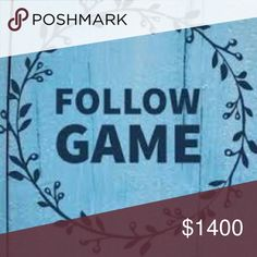 Follow Game Like this post, follow everyone who has liked it, and then share! Watch your followers grow <3 Happy Poshing! 🌹😄⭐🌙 Forever 21 Accessories