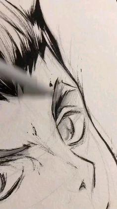 Haikyuu Fanart, Haikyuu Anime, Asui Boku No Hero, Wie Zeichnet Man Manga, Anime Character Drawing, Art Drawings Sketches Simple, Digital Art Tutorial, Anime Sketch, Anime Artwork