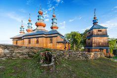 Bieszczady: cerkiew w Komańczy