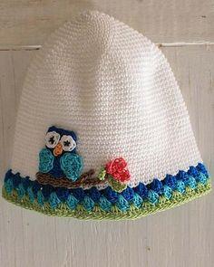 white owl hat