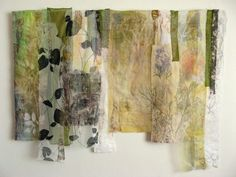 Cas Holmes Textile Artist Along Peddars Way 135x85cm Life, home and work by Cas Holmes textile artist