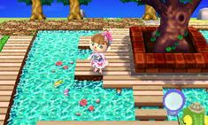 Animal Crossing New Leaf qr codes paths water Animal