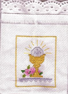 Sissi, First Communion, Sacramento, Christening, Cross Stitch Patterns, Quilts, Embroidery, Blanket, Cross Stitch Bookmarks
