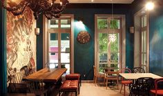 Dalliance Cafe in Kifisia, Athens, Greece My Athens, Athens Greece, Different Coffees, Coffee Places, Coffee Culture, Coffee Type, Greece Travel, Colorful Interiors, Restaurant