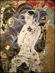 Swoon - cut paper