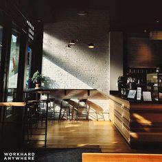 Golden hour. - -  Irving Farm Coffee Roasters New York NY USA by @blairolivia…
