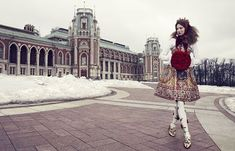 'The Anastasia Of Winter' Lindsey Wixson by Emma Summerton for Vogue Japan December 2013 [Editorial] - Fashion Copious