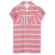 Miu Miu - Ruffled cotton blouse