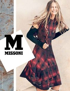 #MMissoni | Advertising Campaign | Fall Winter  2014