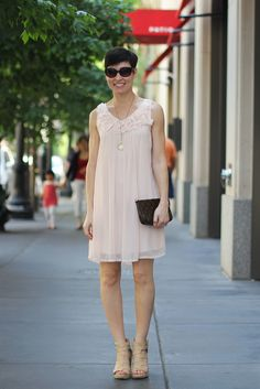 """delicate and lovely summer wear in our """"hotter than hot"""" Chi-town..."""