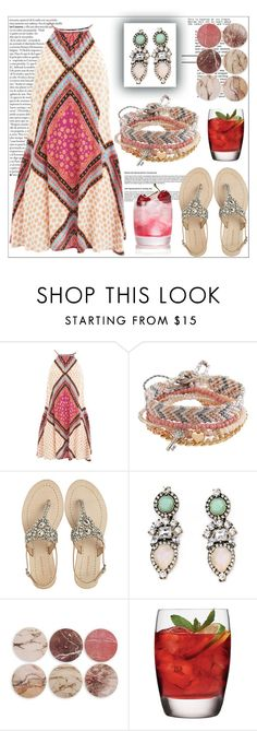 """pink beach style"" by nickooe-zhou ❤ liked on Polyvore featuring MINKPINK, Aéropostale, Antik Batik and &K"