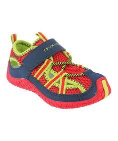 Look what I found on #zulily! Red & Navy Malibu Sneaker #zulilyfinds