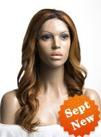 Stock Full Lace Human hair Wig - Wavy -clw062-s,$309.99 #ombrehair #lacewigs