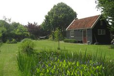 Airbnb Ilpendam Gartenhaus