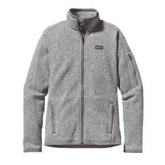 Patagonia - Better Sweater Jacket Gris Mujer