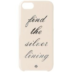 Kate Spade New York Find The Silver Lining Resin iPhone Cases