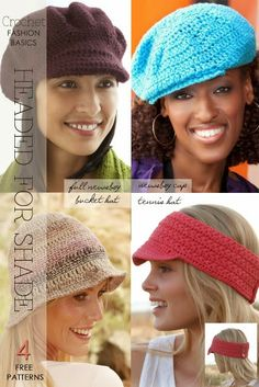 Heads up for spring and summer! Many more free patterns for different styles, there's one to suit you | DiaryofaCreativeFanatic