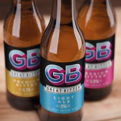 Brand Packaging, Packaging Design, Design Agency, Bitter, Beer Bottle, British, Design Packaging, Package Design, British People