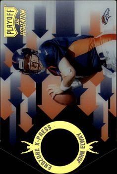 1998 (BRONCOS) Playoff Momentum Endzone X-press #8 John Elway #PlayoffMomentum #DenverBroncos