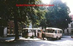 """Gasthuisplein zwolle """" 'n busse van Schutte"""""""