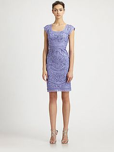 29b8e2b23da Sue Wong - Embroidered Peri Dress