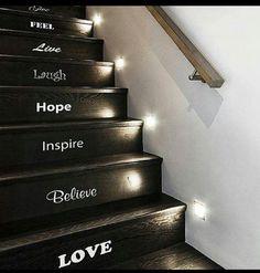 Cute stairs idea