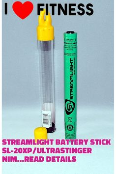 (This is an affiliate pin) Streamlight Battery Stick Sl-20Xp/Ultrastinger Nimh