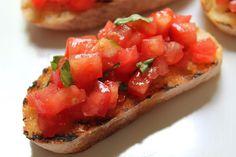 Ontario Tomato Bruschetta