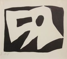 Arp, Vogelmasker, houtgravure, 18 x 16 cm. Jean Arp, Abstract Shapes, Abstract Art, Sophie Taeuber, Art Thou, Henri Matisse, White Art, Contemporary Paintings, Abstract Expressionism