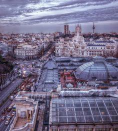 Recoletos / Plaza de Cibeles - Photo by Alejandro García Bermejo / http://alejandrogarciabermejo.blogspot.com.es/