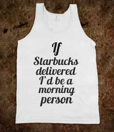 Starbucks delivered